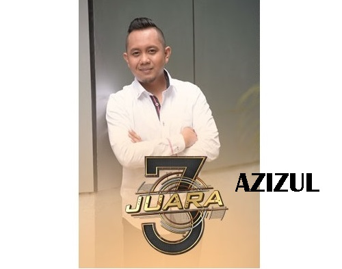 biodata Azizul peserta 3 Juara TV3, biodata 3 Juara TV3 Azizul, profile Azizul 3 Juara TV3 2016, profil dan latar belakang Azizul 3 Juara genre irama malaysia, gambar Azizul 3 Juara TV3