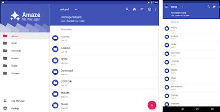 Aplikasi amaze file manager