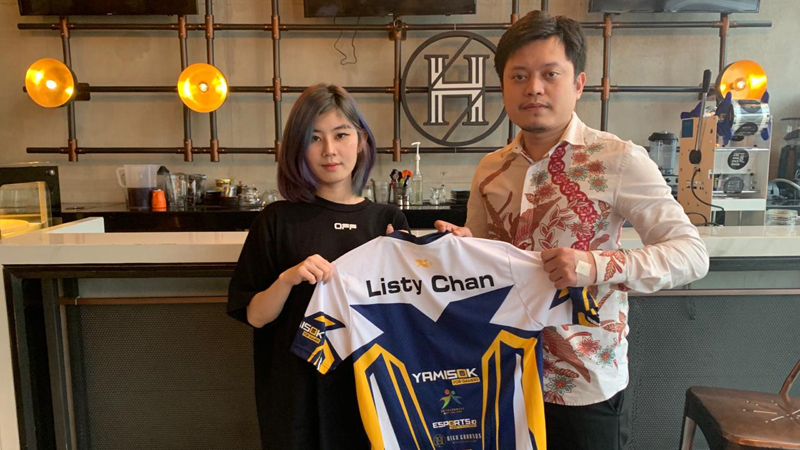 XCN Gaming Officially Collaborates with Listy Chan as Brand Ambassador