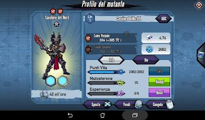 Mutants: Genetic Gladiators video N°355 Fusion Nordic Knightmare - Fusione Cavaliere del Nord