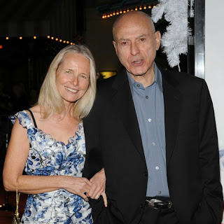 Jeremy Yaffe's ex-husband Alan Arkin with his current wife Suzanne Newlander Arkin