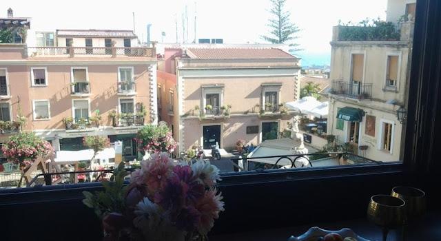 Região central em Taormina