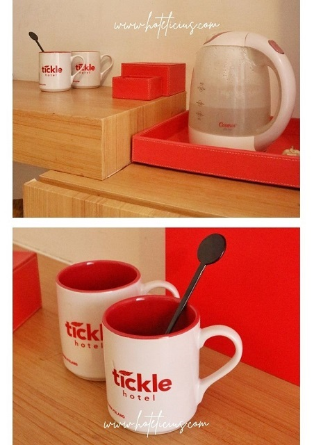 Mug and Water Kettle At Hotel Budget Jogja