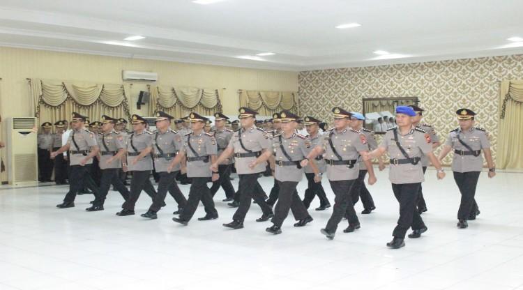 Kapolda Banten Pimpin Sertijab 8 Pejabat Utama dan 1 Kapolres