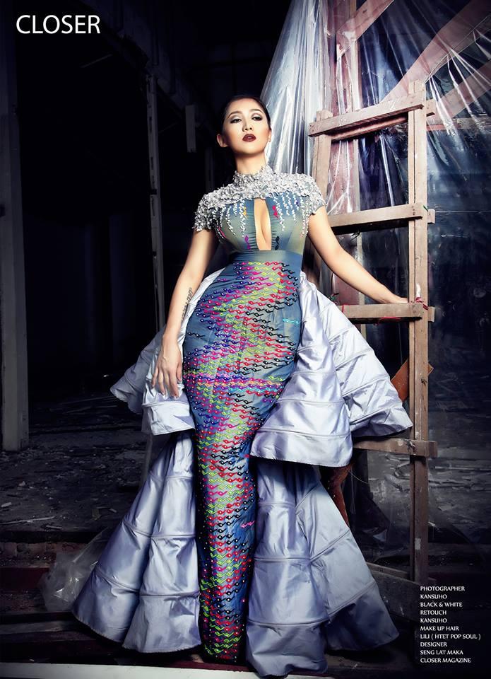 Lu Lu Aung Myanmar Model Girls