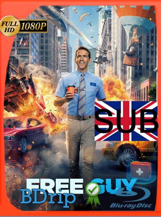 Free Guy: Tomando el Control (2021) BDRip 1080p Subtitulado [GoogleDrive]