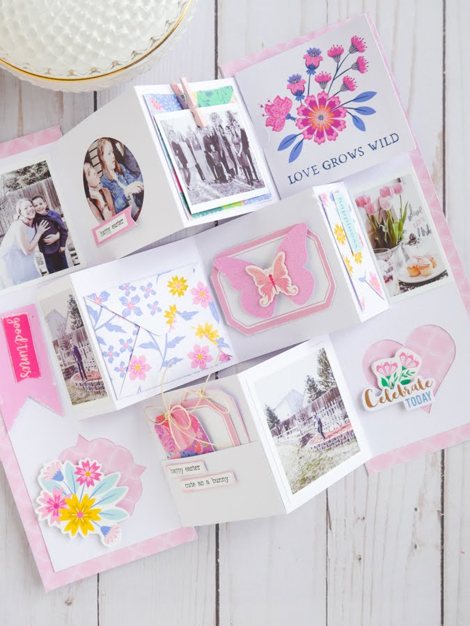new Paige Evans Horizon Paper Line Card Album by Jamie Pate | @jamiepate for @paigeevans