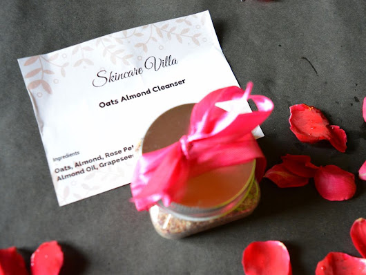 Skincare Villa Oats Almond Cleanser Review