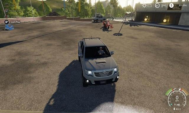 FS19 Toyota Hilux v1.0