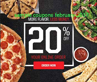 free Pizza Inn coupons for february 2017