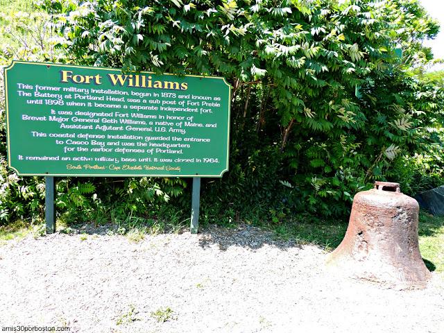 Fort Williams, Maine