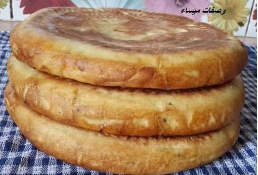 خبز المطلوع الخفيف لشهر رمضان