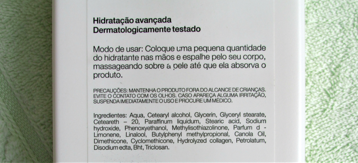 Hidratante Hidramais Colágeno e Vitamina E