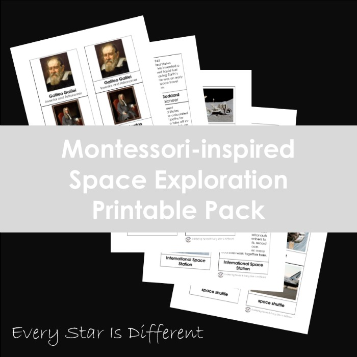 Space Exploration Printable Pack