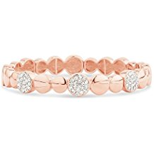 Park Lane Rose Gold Plated Crystal Sparkle Bracelet