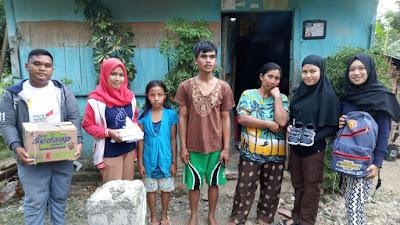 IPNU-IPPNU Boalemo Buka Donasi Demi Rumah Warga tak Layak Huni