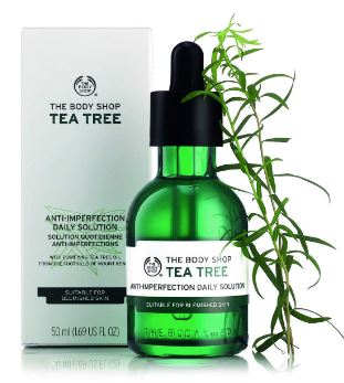The Body Shop Tea Tree Anti-Imperfection Daily Solution, 50ml