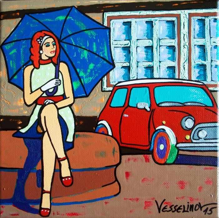 Поп-арт картины. Vlado Vesselinov