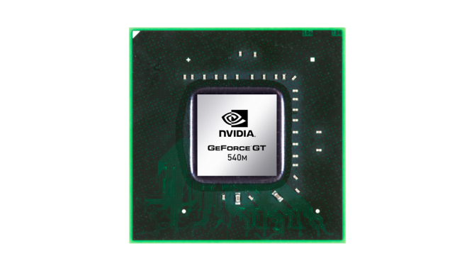 Nvidia GeForce GT 540M Driver Download