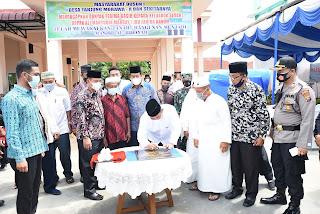 Wabup Deli Serdang Resmikan Masjid AL.Hidayah Desa Tanjung Morawa A