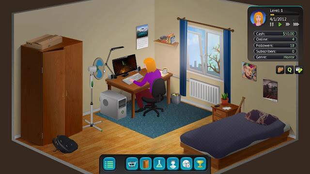 تحميل لعبة محاكي اليوتيوبر للجوال للاندرويد والايفون مجانا streamers .streamer life simulator PC. تحميل Streamer Life Simulator للكمبيوتر من ميديا فاي