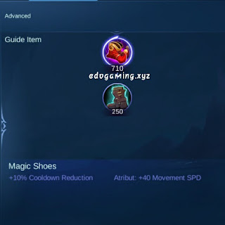 penjelasan lengkap item mobile legends item magic shoes