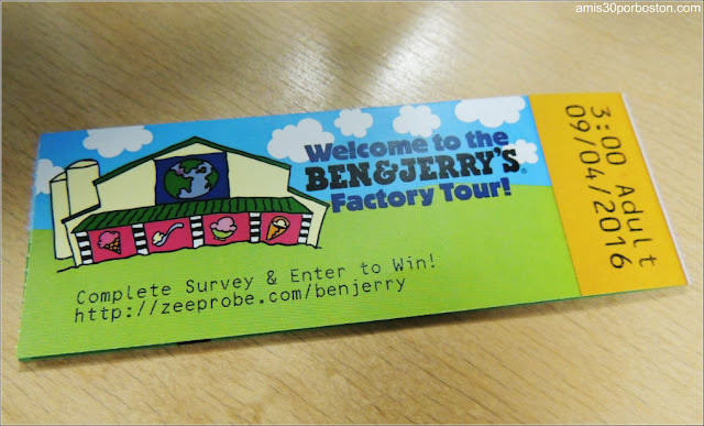 Tickets para el Tour en la Fábrica de Ben & Jerry's, Vermont