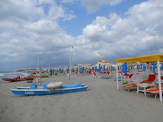 Viareggioの海岸