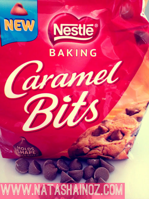 Caramel and Cashew Shortbread Cookie Recipe, Nestle Caramel Bits