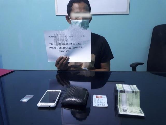 Oknum ASN DPMD Merangin Ditangkap Polisi, Sering Beli Narkotika