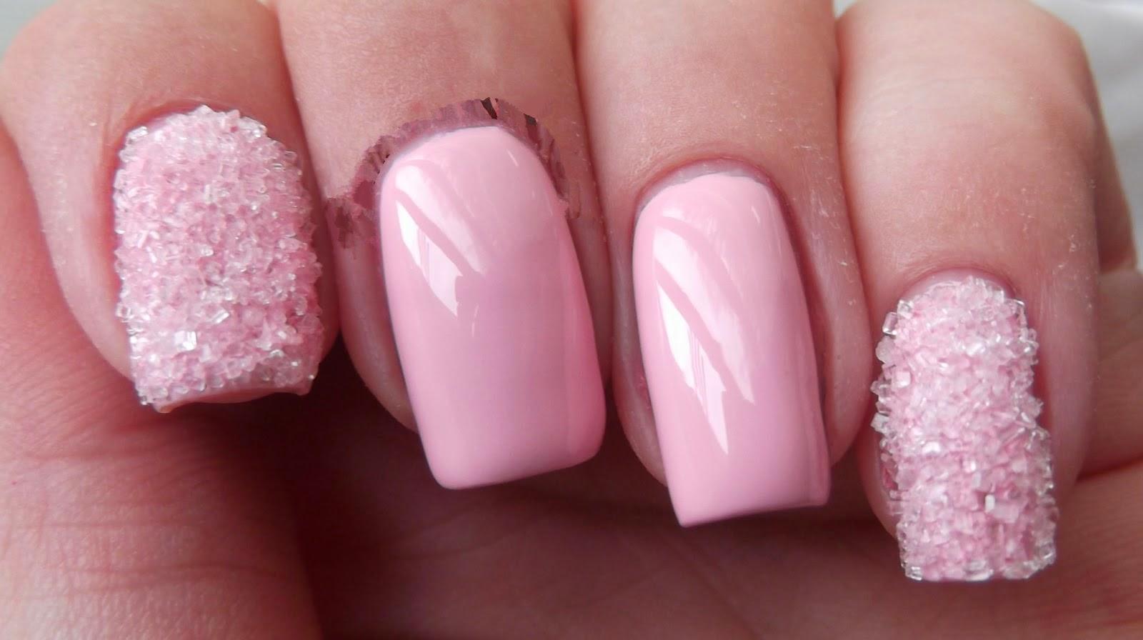 Light Pink Nail Designhttp://9ailsside.blogspot.com/Nail Side