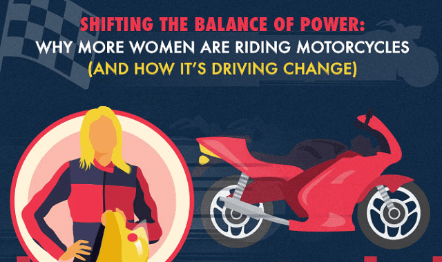 Why More Women are Riding Motorcycles and How That's Driving Change