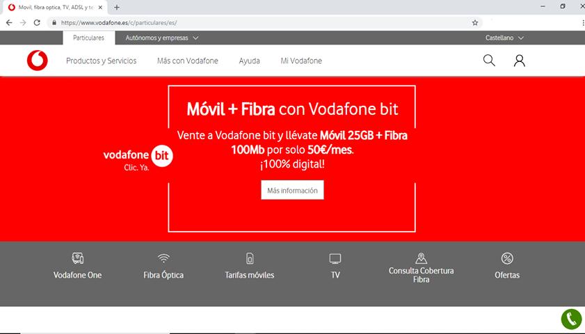 Vodafone oferta Vodafone Bit