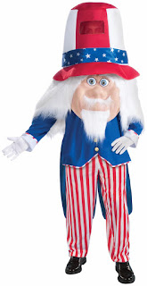 Uncle Sam Parade Pleaser Adult Costume