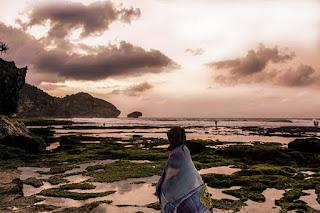 Pantai Indah Yang Tersembunyi di Jogja, Pantai Ngrumput