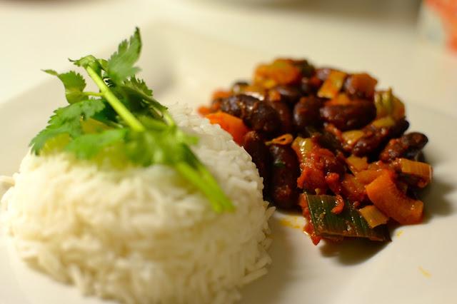chili sin carne receta cocina vegetariana