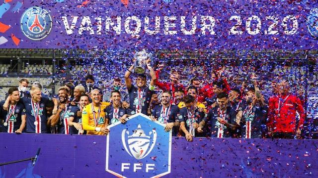 مشاهد من تتويج باريس سان جيرمان بلقب كأس فرنسا