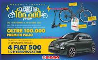 """Sigma """"Grande concorso La carica dei 100.000 premi"""" : vinci Fiat 500, Gift Card, biciclette, monopattini e prodotti"""