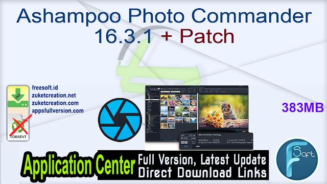 Ashampoo Photo Commander 16.3.1 + Patch