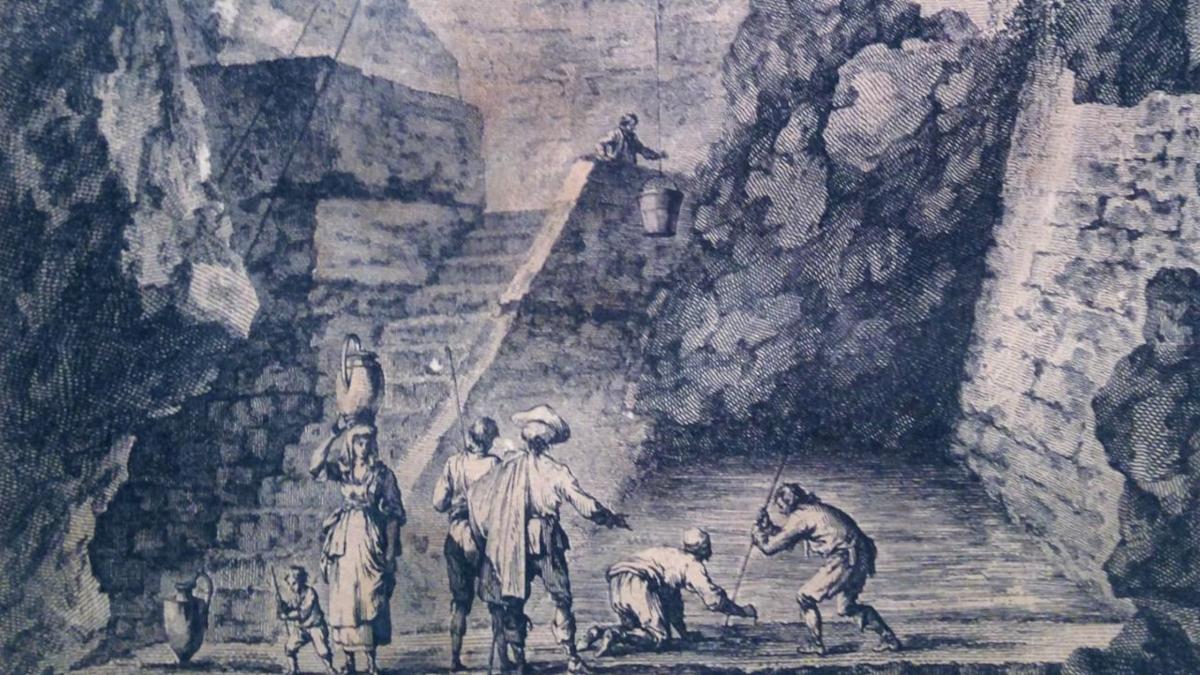 La leggenda di Gammazita, il pozzo di Gammazita