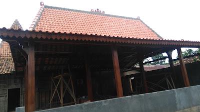 Jual Rumah Limasan Tiang Soko 20 Cm Antik Dan Elegan Jual Rumah