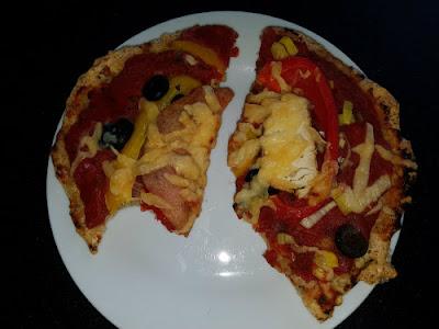 rijstpizza