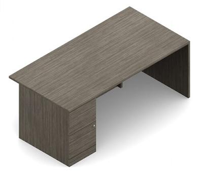 zira pedestal desk