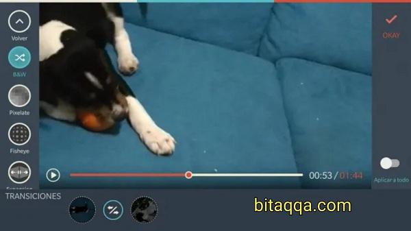 تطبيق FilmoraGo