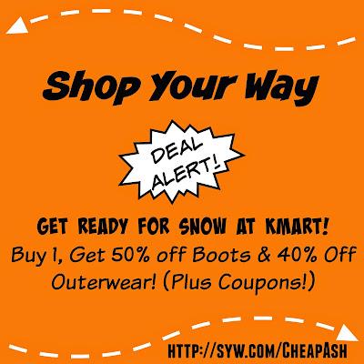 Kmart, Shop Your Way Rewards, Winter Boots, Winter Outerwear, Kmart Sales