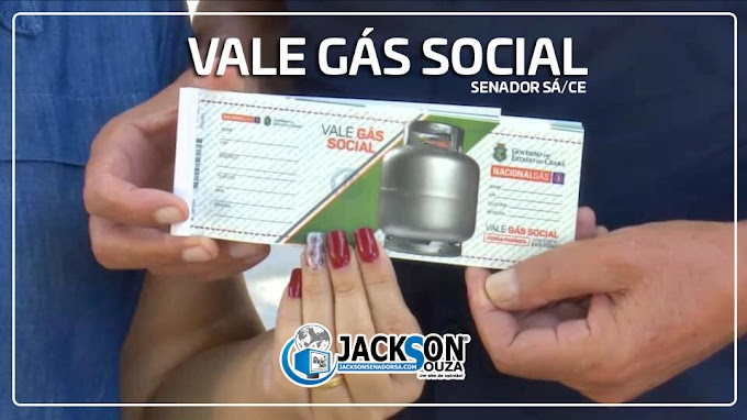 Entrega do segundo lote do Vale Gás Social inicia na segunda, dia 1 de Junho, em Senador Sá. Mais 155 famílias devem ser beneficiadas!