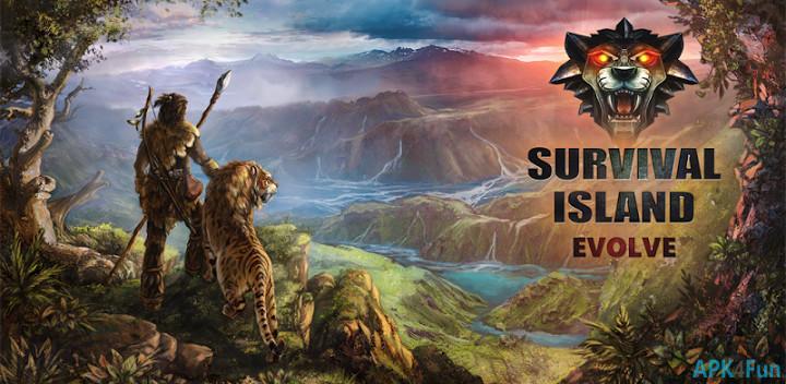 download game survival island evolve pro mod apk