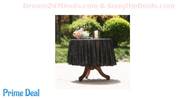 50% off Sequin Tablecloth