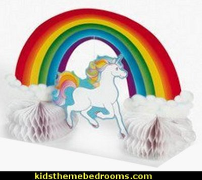 Unicorn Rainbow Centerpiece    unicorn party supplies - rainbow unicorn party decorations - unicorn birthday party - Unicorn Themed Party -  Unicorn Balloons  -  unicorrn cupcakes - rainbow decorations - Unicorn  Garlands - sequin tablecloth - tutu table skirt -