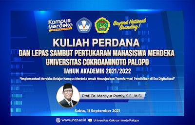 kuliah perdana UNCP semester ganjil 2021-2022